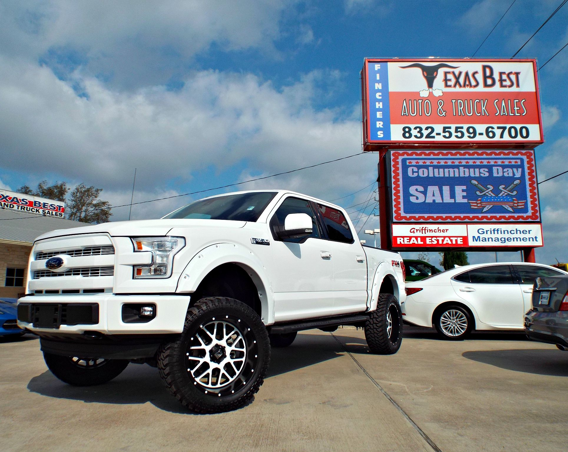 custom lifted 2015 ford f150 lariat