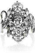 Awesom Sauce: Tom Binns Parure Don't Dare silver-plated Swarovski crystal skull cuff