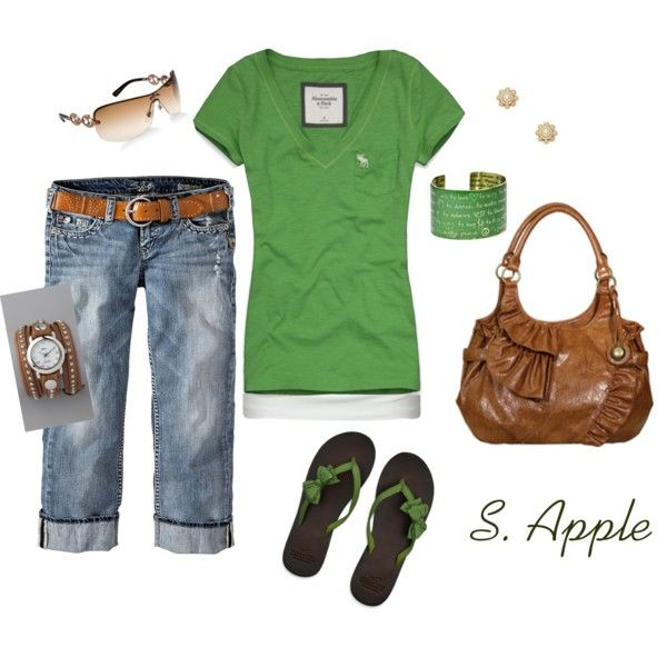 The grass is greener..., created by sapple324 on Polyvore