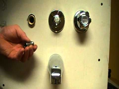 How To Fix Or Repair A Leaky Bath And Shower Faucet Stem And Seat