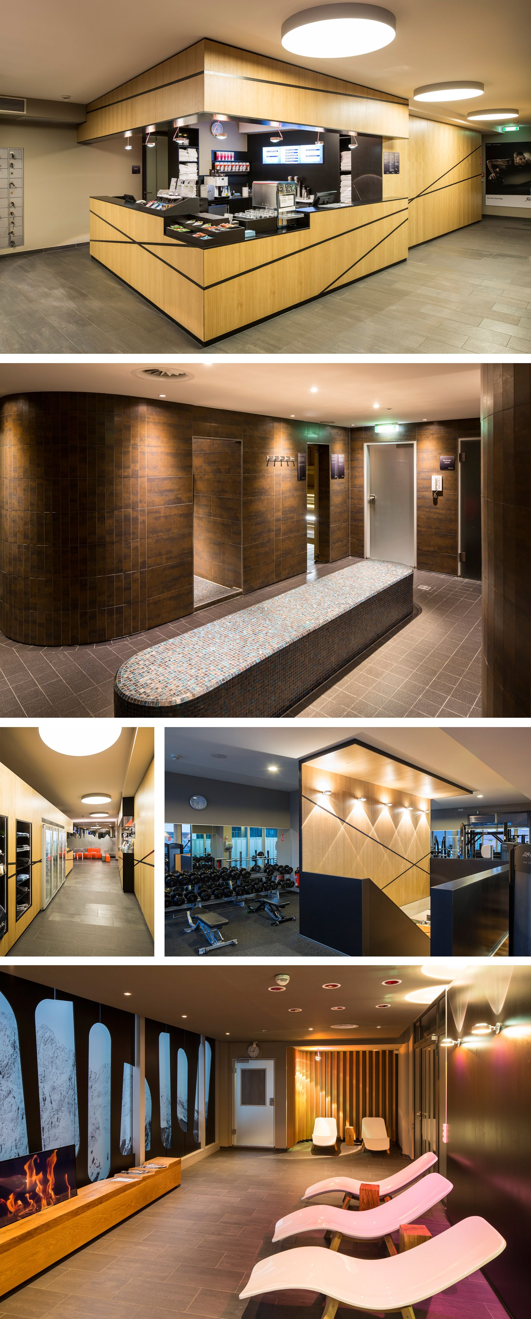 Domicil Showroom with the Material Lab and VIP Room in Munich by ...