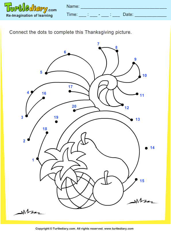thanksgiving-connect-the-dots-by-numbers-cornucopia.png (595×800 ...