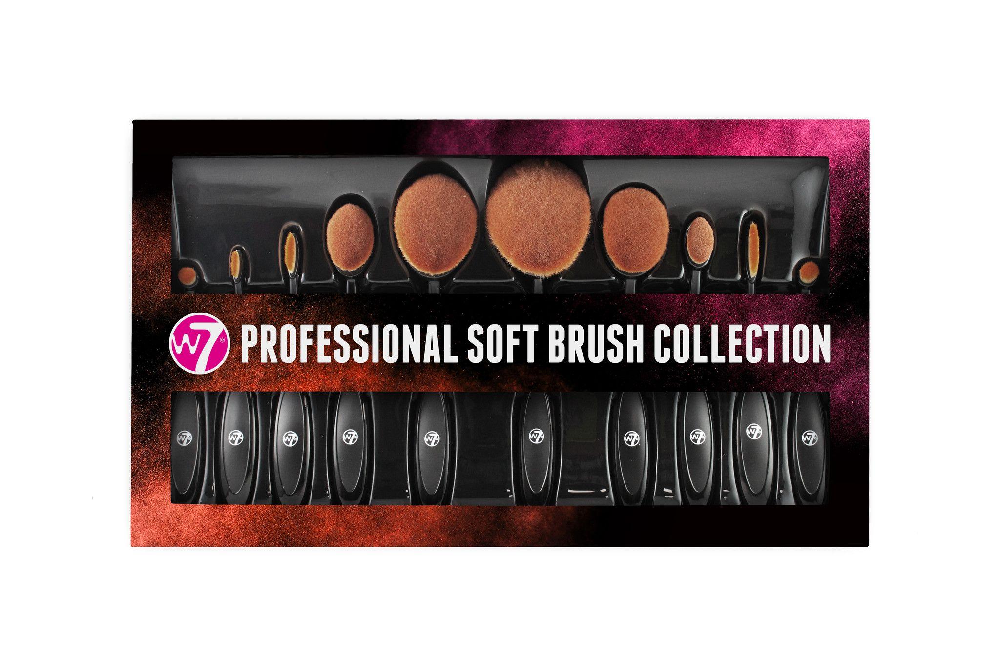 5 Piece Ombre Oval Brush Set Oval brush set, Oval brush