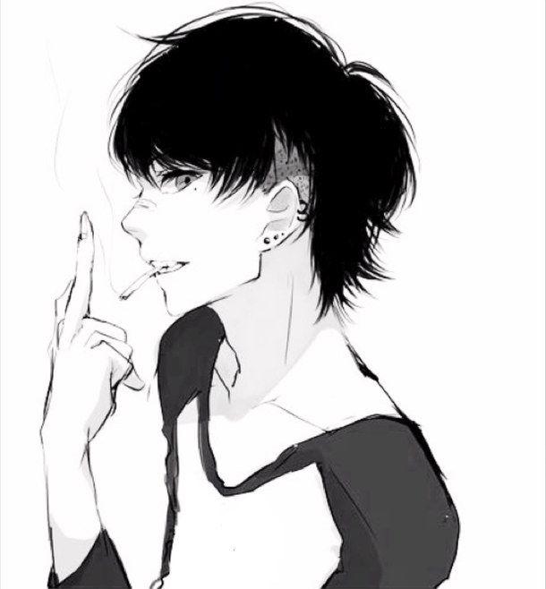 Арты парень с девушкой аниме