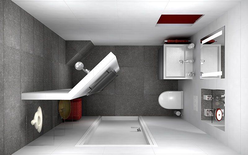 Kleine Badkamer Tegels : Badkamer met ingebouwde spiegelkast home improvements