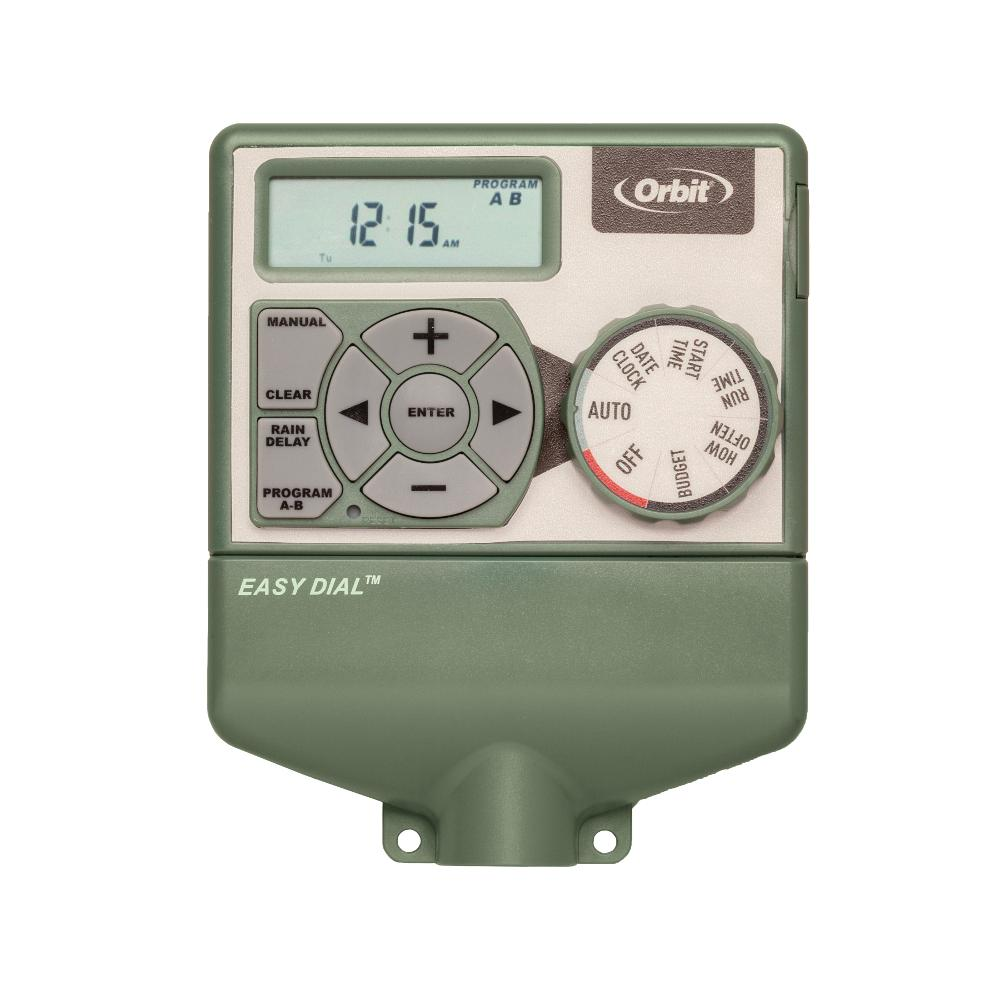 Orbit 6-Station Indoor Easy Dial Timer, Greens | Products