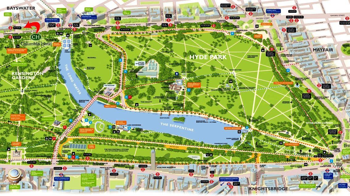 hyde park walking path plan Google Search Path Pinterest Paths