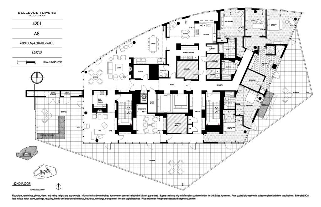 Image Result For Seattle Penthouse Floor Plans Home Floorplans