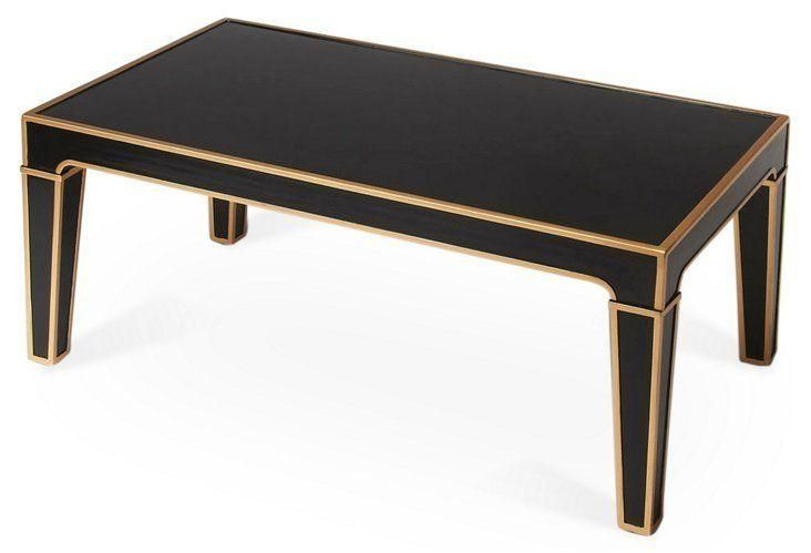 Grover Coffee Table Black Gold Gold Coffee Table Art Deco Coffee Table Black Gold Bedroom