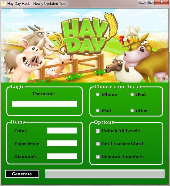 Hay Day Hack Tools Diamonds android iOs No Download | Hobbies8 ...
