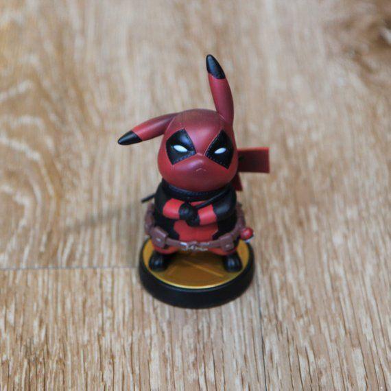 Custom Amiibo - Deadpool Pikachu