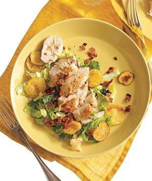 Chicken With Potatoes, Bacon, and Cabbage from realsimple.com #myplate #protein #vegetables