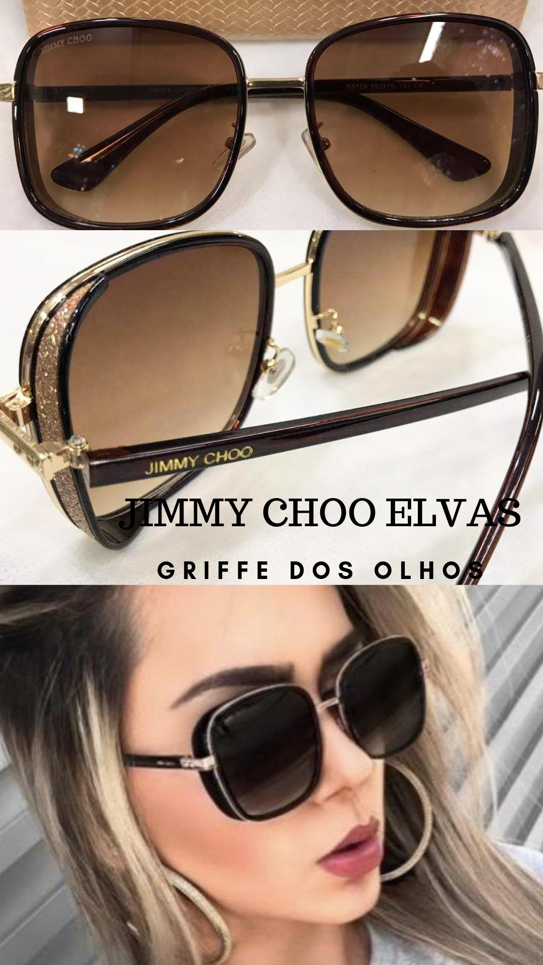 7c2378907 JIMMY CHOO MARROM- ELVAS 2M2 T4 A - ÓCULOS DE SOL #oculosjimmychoo  #jimmychoo #oculostendencia #oculos2019 #oculosdesol #oculosfeminino