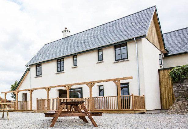 Straw bale guesthouse, Ireland | Cob & Straw etc. | Pinterest ...