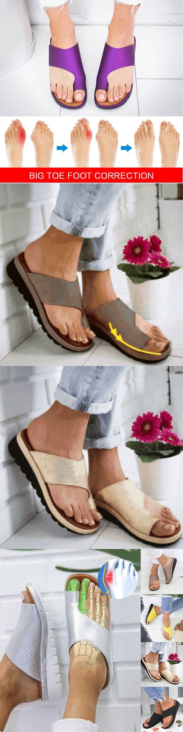 Still worry about toe foot correction?A Perfect shoes solve all your problem~Only $26.99 & Free shipping,Muti-color  for choice,Pick your own shoes now~ #thingstowear