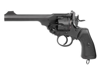 Webley Mark VI CO2 revolver 12-gram CO2 cartridge 6-rd BB