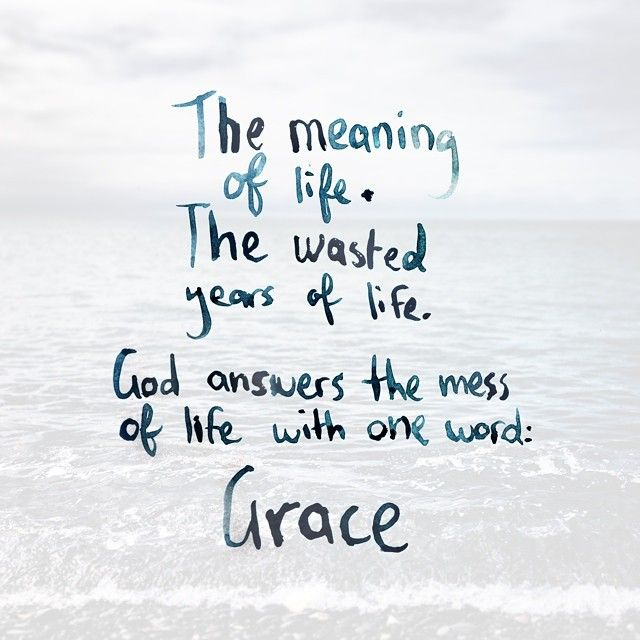 The meaning of life  the wasted years of life  God answers