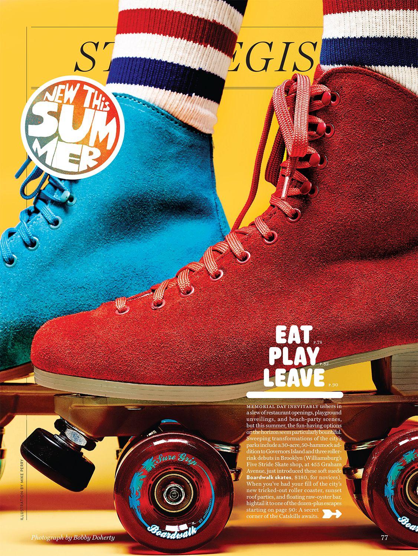 Roller skates york - Roller Skates For New York Magazine