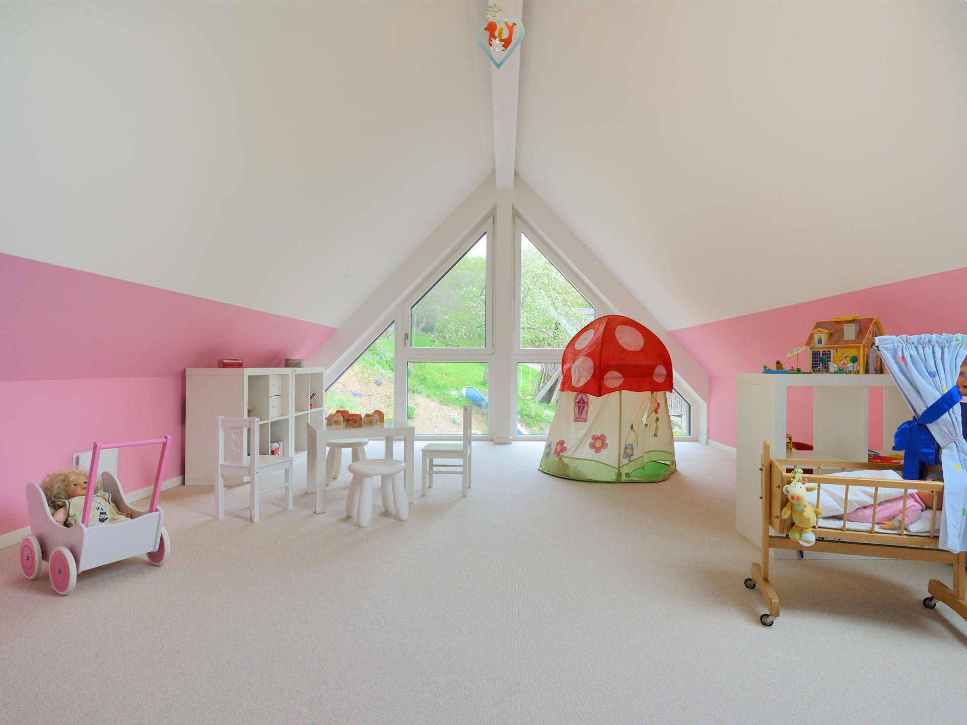 Haus Rothermel Kinderzimmer Pinterest Baufritz Musterhaus Und. Kinderzimmer  Unterm Dach Gestalten   Parsvendingcom