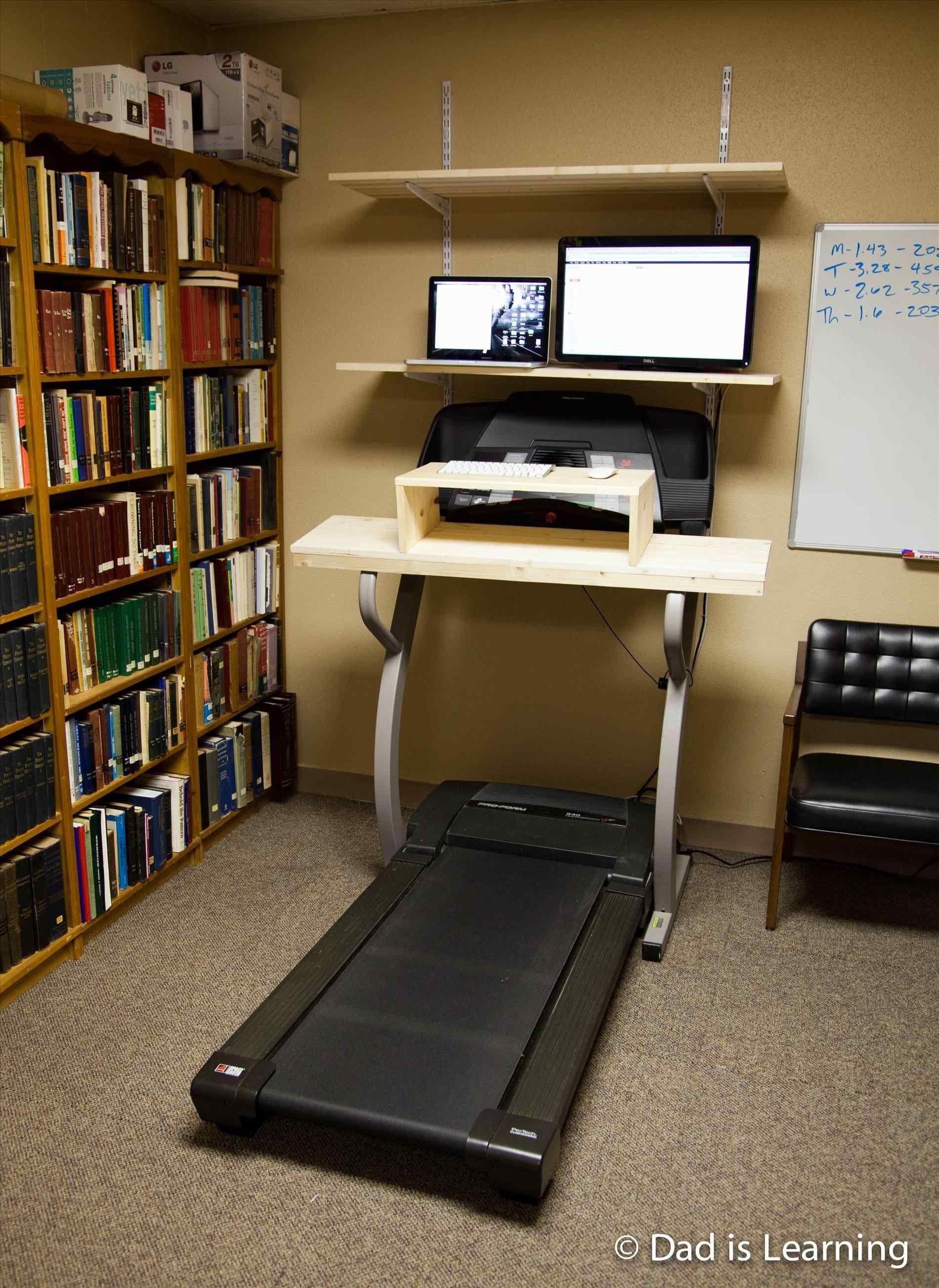 treadmill desk diy ideas