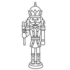 christmas nutcracker coloring pages printable - photo#23