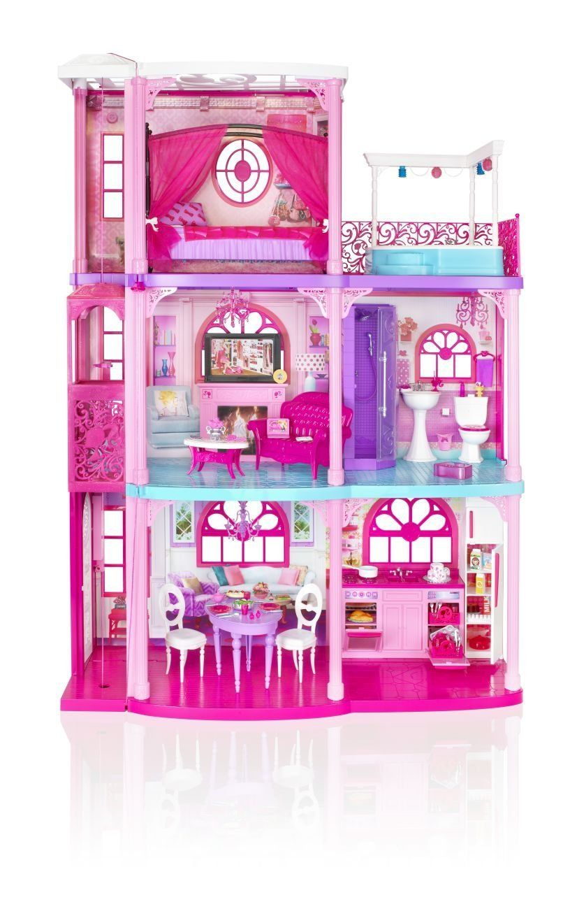 Barbie Pink 3 Story Dream Townhouse Review Everything Kids