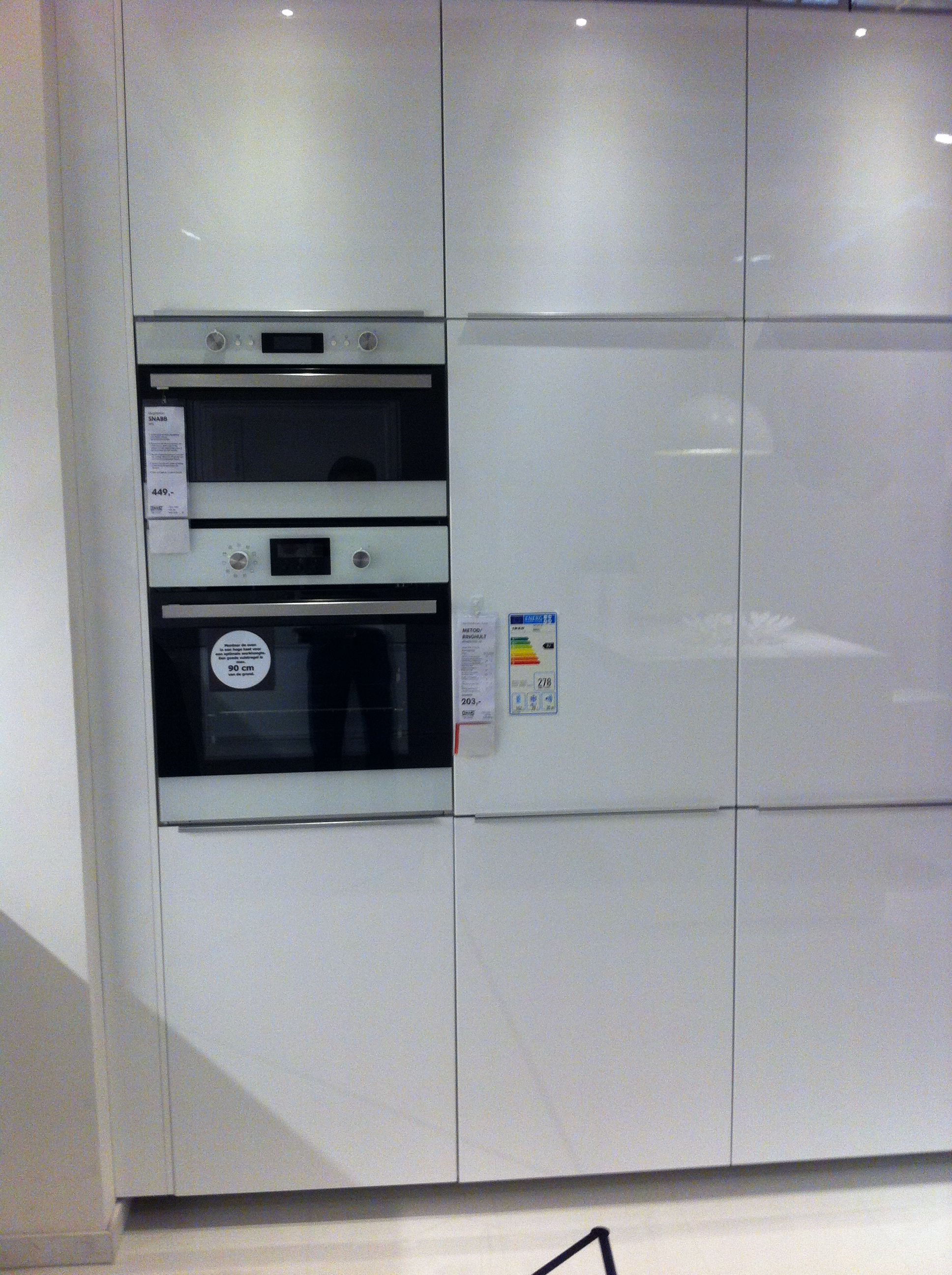 Best Metod Ringhult Hooglanzend Wit Keuken 6 Ikea Gent 640 x 480