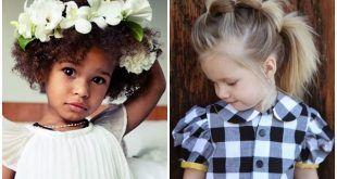 penteados infantis ideias