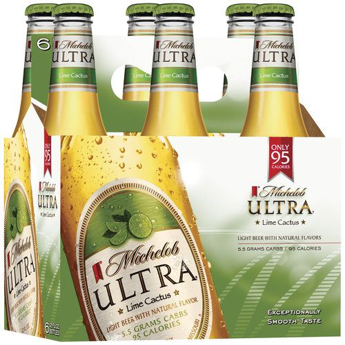 Michelob Ultra Infusions Lime Prickly Pear Cactus Light Beer 6 Pack Beer 12 Fl Oz Bottles 4 Abv Walmart Com Lime Beer Michelob Ultra Cactus Light