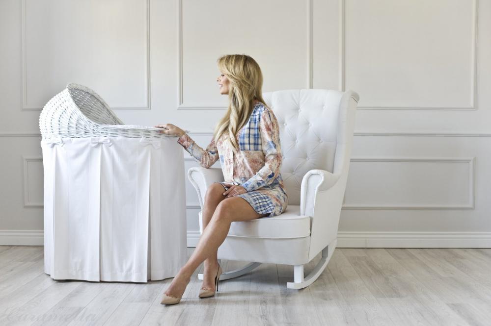 Wyprawka Izabeli Janachowskiej Rocking Armchair Comfortable Armchair Armchair
