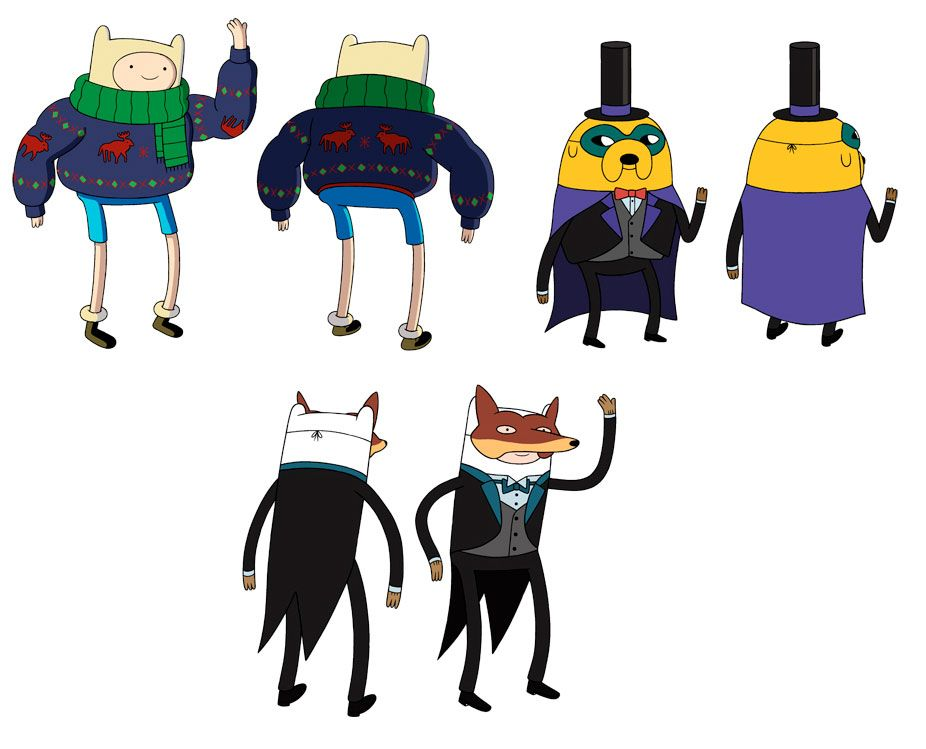 adventuretime-characters-01  Art of Adventure Time  Pinterest  The two, The o'jays and Design