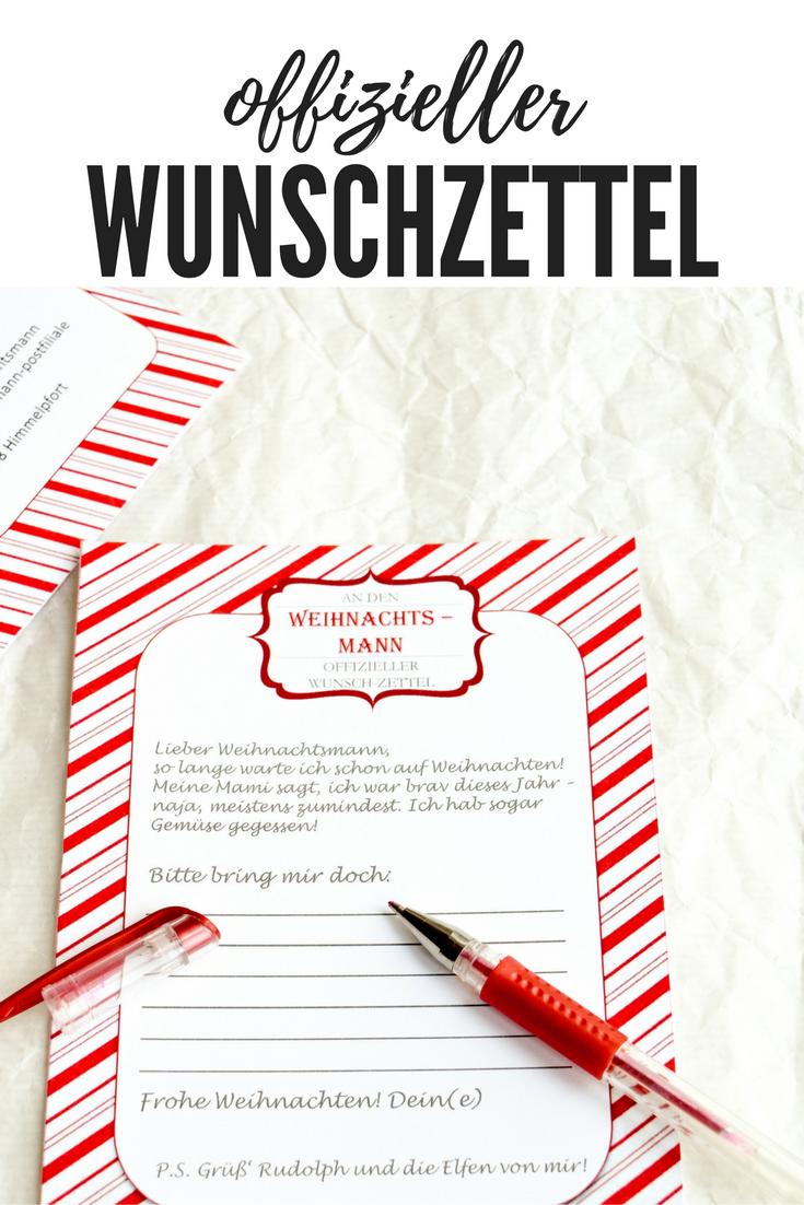 Freebie Wunschzettel An Den Weihnachtsmann Brief Vom Weihnachtsmann Brief An Weihnachtsmann Und Lieber Weihnachtsmann