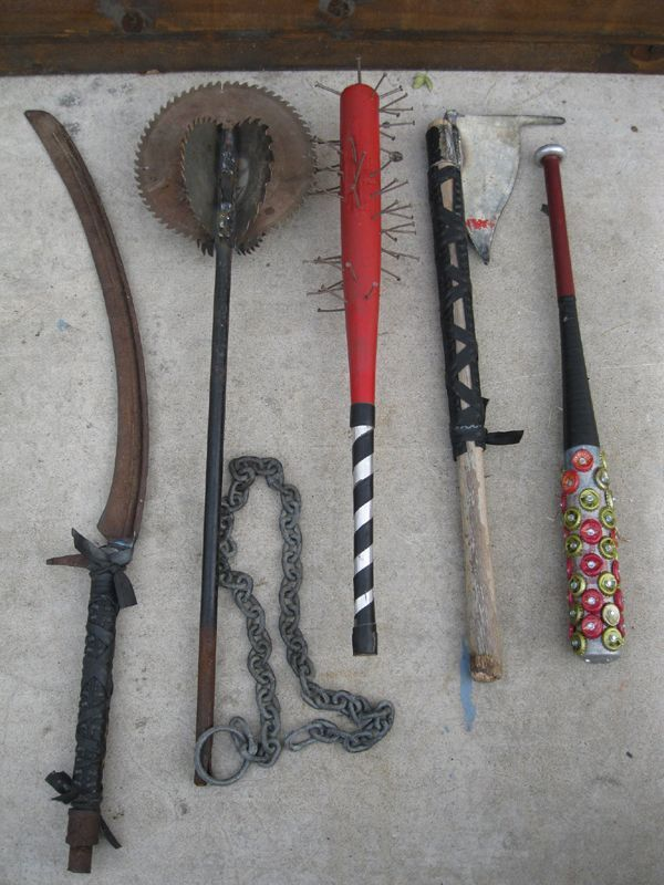 makeshift melee weapons | Apocalyptica | Pinterest ...