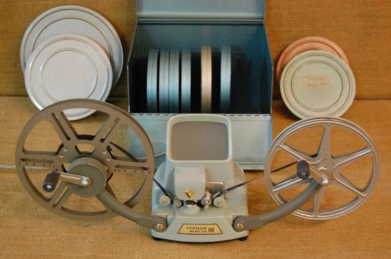 Vintage 8mm Film editor, vintage Vernon 101 film editor