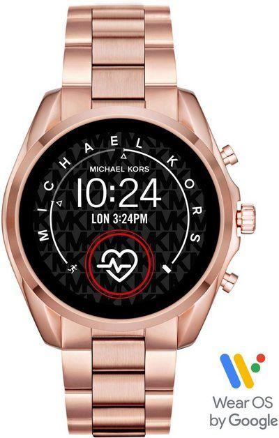 Bradshaw Mkt5086 Smartwatch Mit Individuell Einstellbaren Zifferblattern Smartwatch Zifferblatt Und Michael Kors