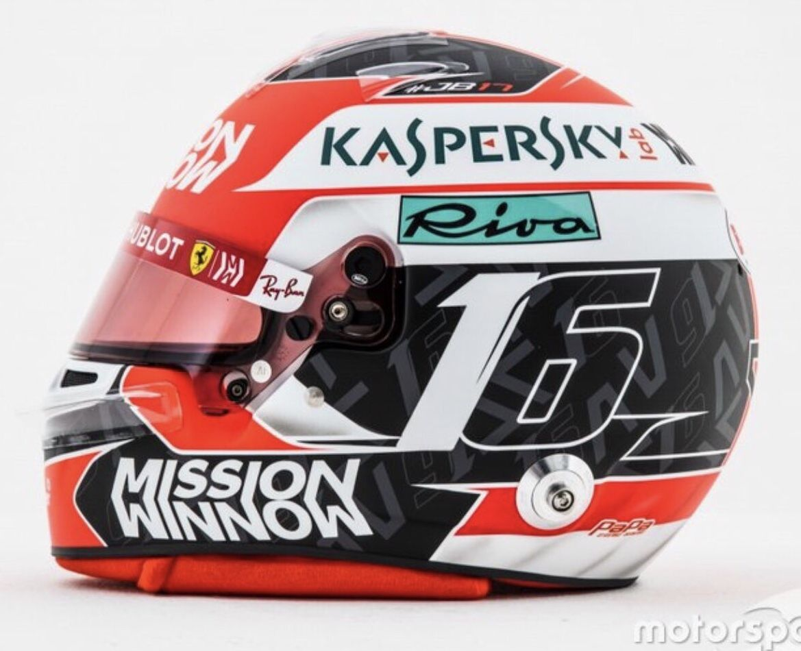 Charles Leclerc 2019 Ferrari Helmet Concept Design What Do You Think Lets Tag Charles Leclerc So He Can See It Helmet Concept Helmet Ferrari