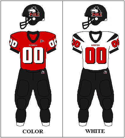 size 40 62a2d 77ba8 Northern Illinois Huskies Football Team uniforms | NIU ...