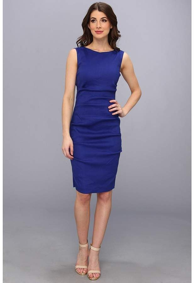 9f805ca589 Nicole Miller Lauren Stretch Linen Dress Women s Dress