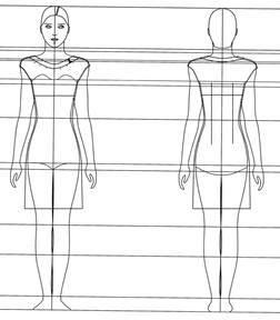 Курсовая конструирование женская летняя куртка Красивая одежда  Курсовая конструирование женская летняя куртка