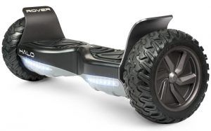 1. HALO ROVER Hoverboard with Bluetooth Speakers