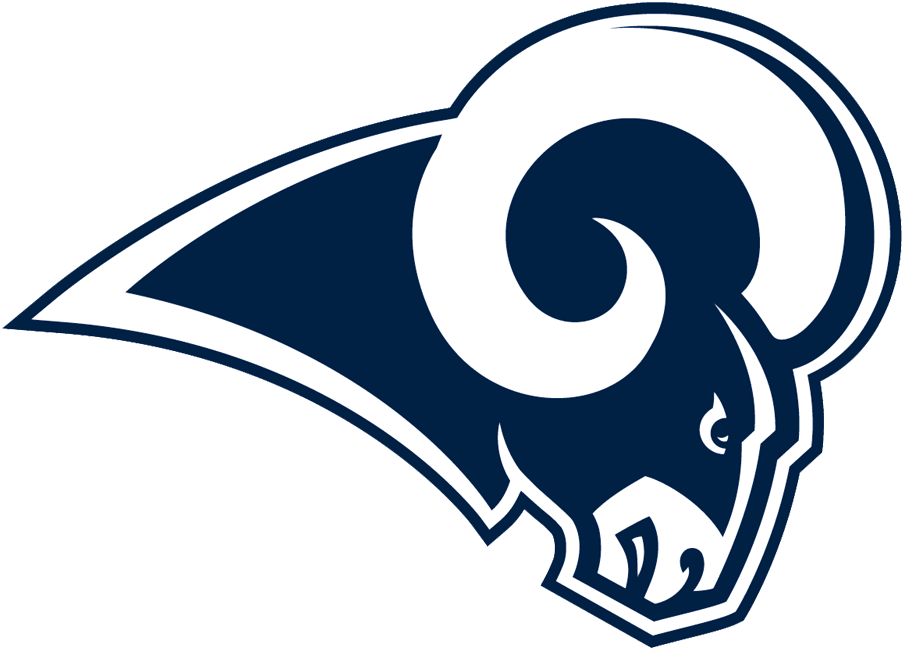 Los Angeles Rams Logo NFL Los angeles rams logo, Los