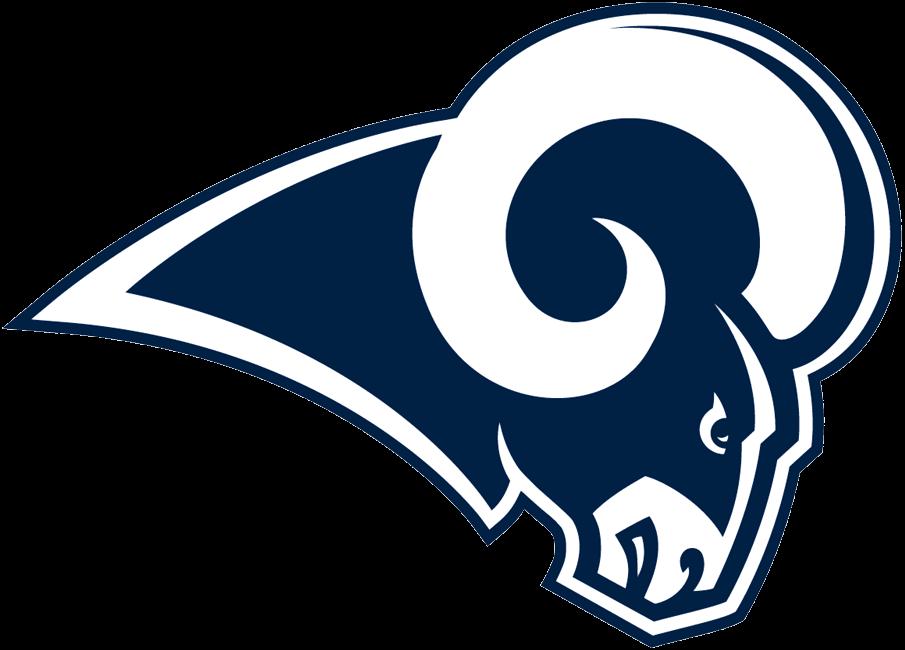 Los Angeles Rams Logo NFL Los angeles rams logo, Los