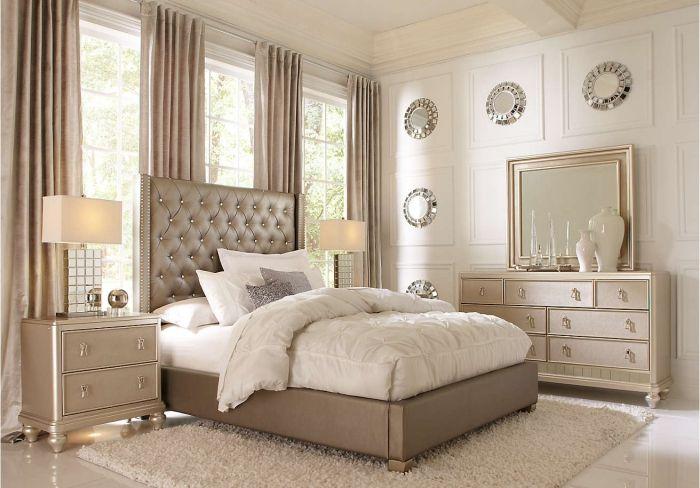 Chambre Blanche Adulte ▷ 1001 + modèles inspirantes de la chambre blanche et beige