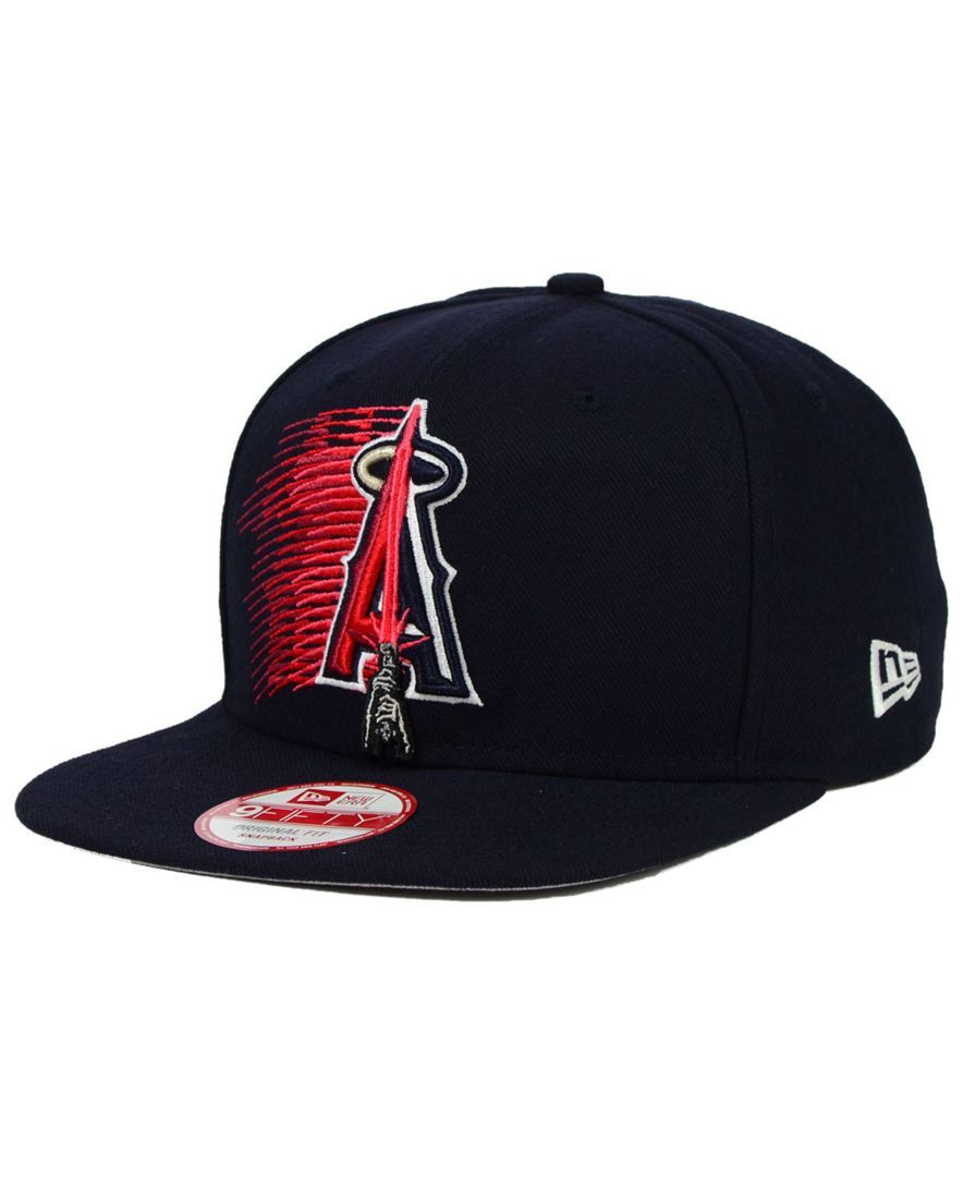 03c764e77ba New Era Los Angeles Angels of Anaheim Star Wars Logoswipe 9FIFTY Snapback  Cap