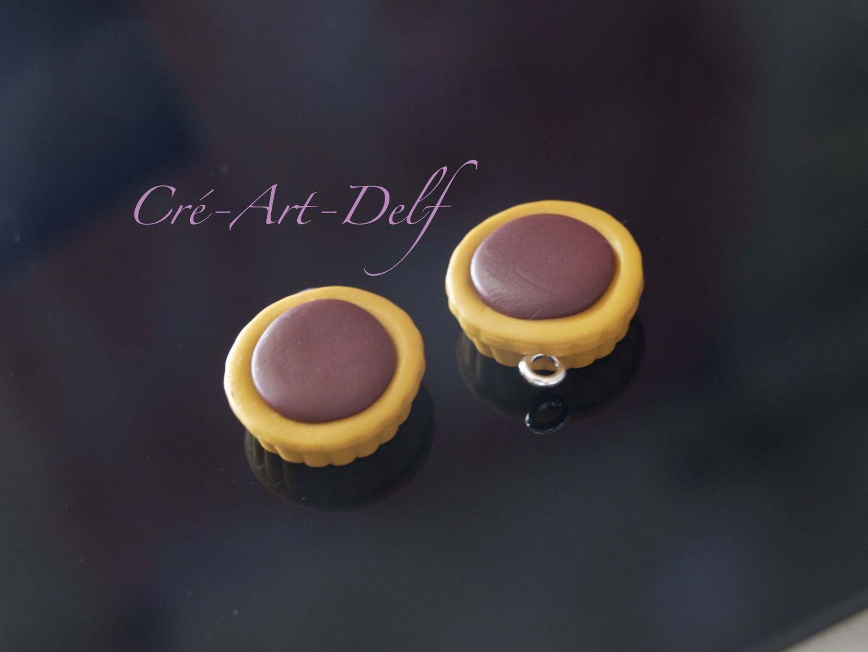 breloque tartelette fimo : Cuisine, gourmand par cre-art-delf63