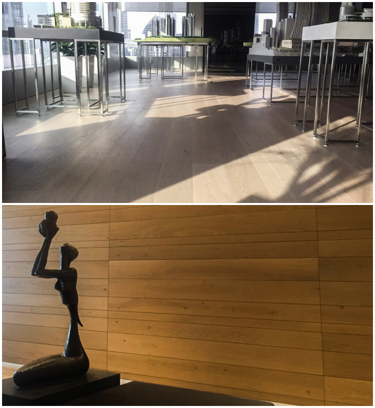 Capital Tower: Engineered Timber Flooring from Listone Giordano
