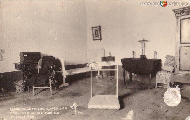 Fotos de Puebla, Puebla, México: Celda de la Madre Superiora. Convento de Santa Mónica