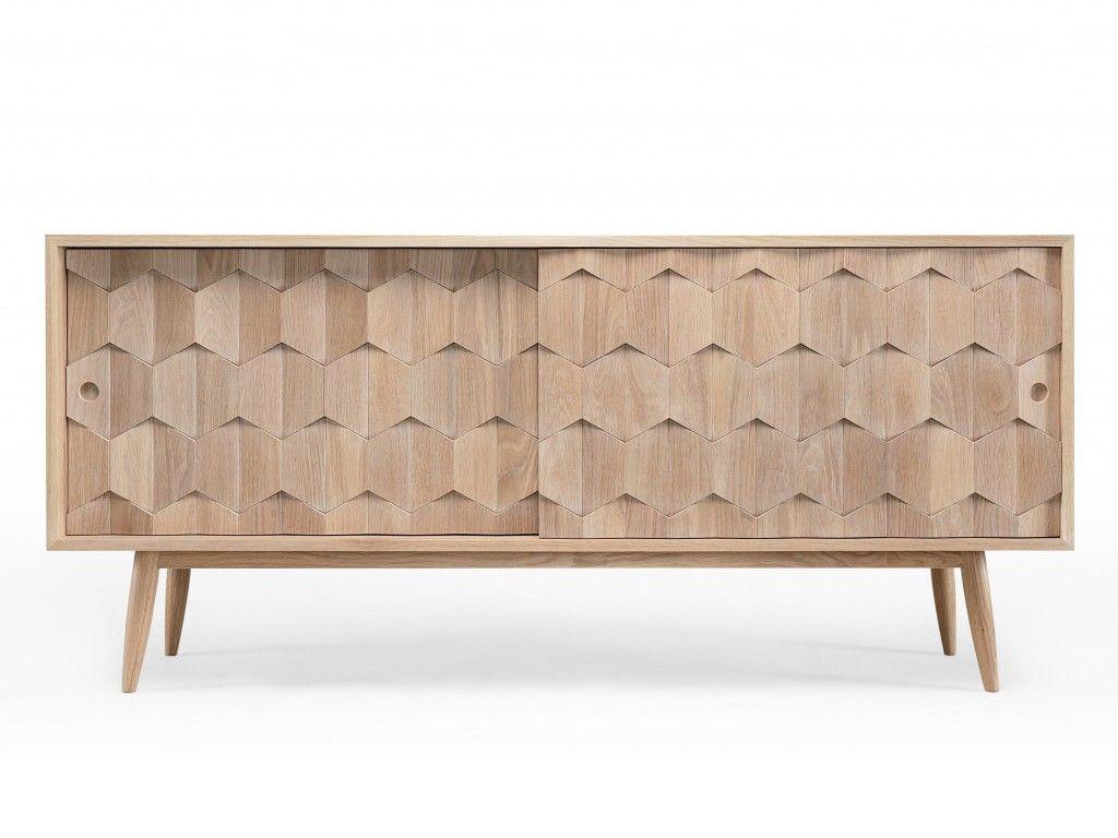 Aparador Com Frente Geom Trica Ideias Para A Casa Pinterest # Muebles Geometricos