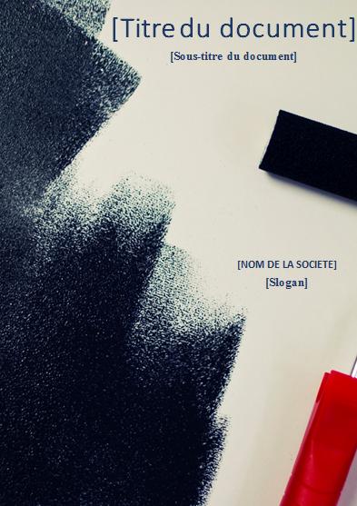 creer cv design noir et blanc gratuit