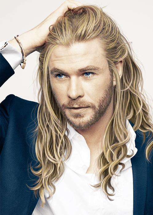 Which Celeb Is A Pro Mane Icon Chris Hemsworth Thor Chris Hemsworth Long Hair Styles